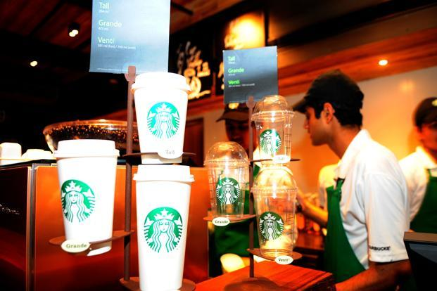Starbucks' flagship store at Connaught Place, New Delhi. Photo: Ramesh Pathania/Mint