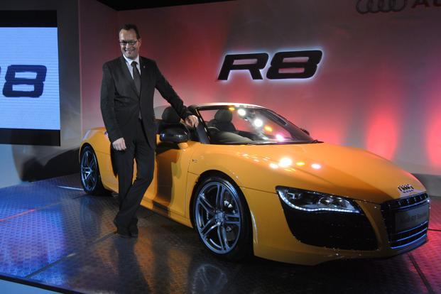 Michael Perschke, head, Audi India. Photograph: Abhijit Bhatlekar/Mint