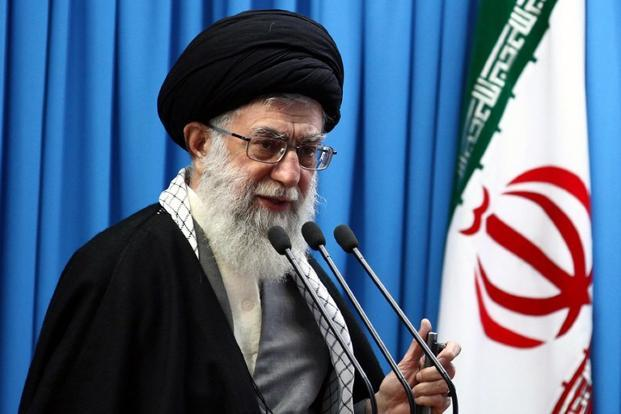 A file photo of Iran's supreme leader Ayatollah Ali Khamenei. Photo: AFP