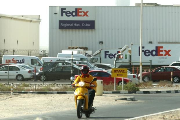 FedEx spokesman Glen Brandow declined to say how many employees are leaving, or even how many US-based officers and executives FedEx employs. Photo: AFP