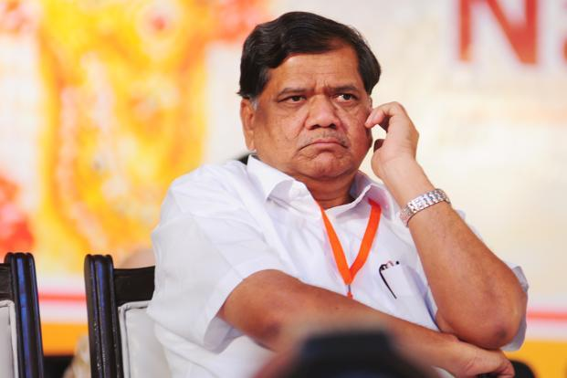 A file photo of Karnatka chief minister Jagadish Shettar. Photo: Ramesh Pathania