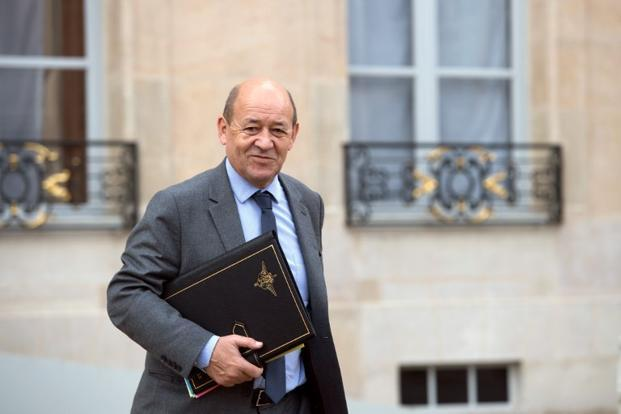 French defence minister Jean-Yves Le Drian. Photo: Bertrand Langlois/AFP