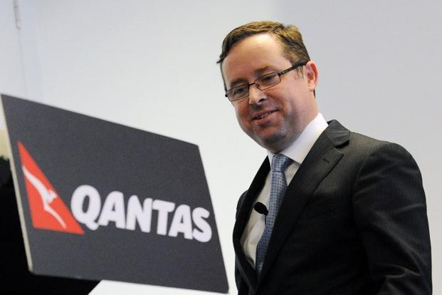 A file photo of Qantas chief executive officer Alan Joyce in Sydney, Australia. Photo: AFP