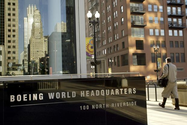 A file photo of Boeing World headquarters in Chicago. Photo: Reuters