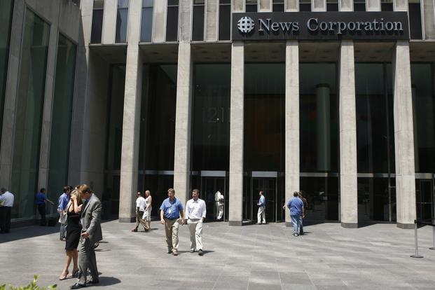 News Corp. is preparing to separate its faster growing entertainment assets from its newspapers, a move that has been greeted with enthusiasm from investors who have driven up the stock almost 50% year-over-year. Photo: Reuters