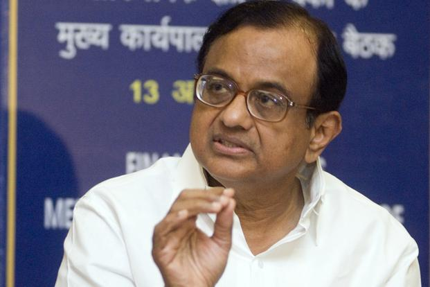 A file photo of P. Chidambaram. Photo: Ramesh Pathania/Mint