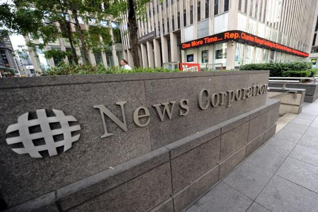 A file photo of News Corporation building in New York. Photo: AFP