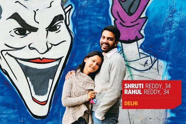 Rahul and Shruti Reddy at their Nana store in Delhi's Hauz Khas Village. Photo: Priyanka Parashar/Mint.