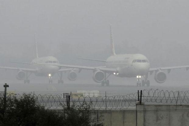 Night and morning remains free of fog in Delhi airport.