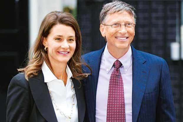 Melinda and Bill Gates. Photo: Peter Macdiarmid/Getty Images.