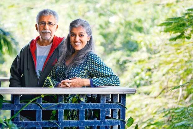 Actors Naseeruddin and Ratna Pathak Shah at their home in Bandra, Mumbai. Photo: Ritam Banerjee/Mint