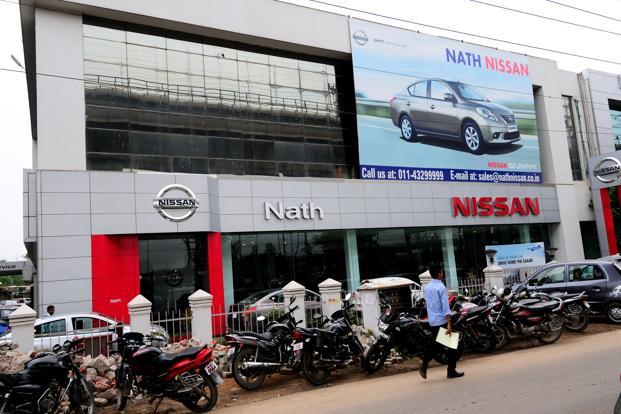 Nissan sold 4.94 mn vehicles in calendar year 2012 globally, up 5.8% from 2011, but sales in China fell 31.3% on average in Oct-Dec from a year ago after anti-Japan protests broke out in Sept. Photo: Mint