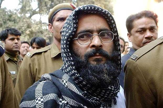 A file photo of Afzal Guru. Photo: AFP
