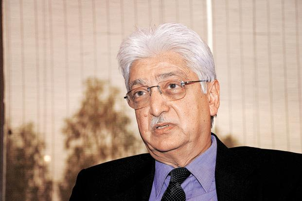 Earlier this year, Azim Premji became the non-executive chairman of a company unit when Wipro hived off its non-IT business into Wipro Enterprises, a sign that he's started putting together a plan to formally step down. Photo: Aravind Teki/Bloomberg