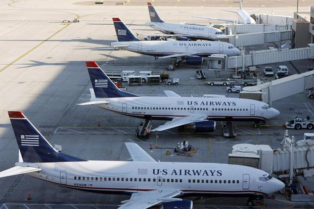 The merger of US Airways and AMR would create the world's largest airline. Photo: Reuters
