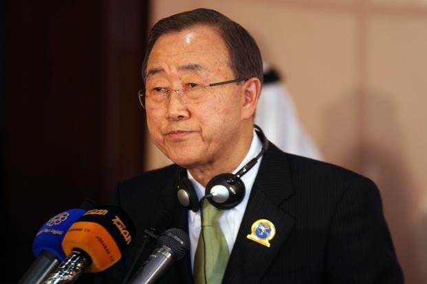 UN secretary-general Ban Ki-moon. Photo: AFP