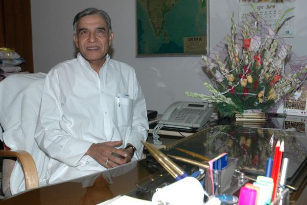 A file photo of railways minister Pawan Kumar Bansal.