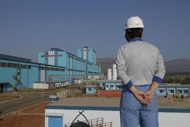 A file photo of Posco-India's processing centre in MIDC Talegaon, outskirts of Pune. Photo: Abhijit Bhatlekar/Mint
