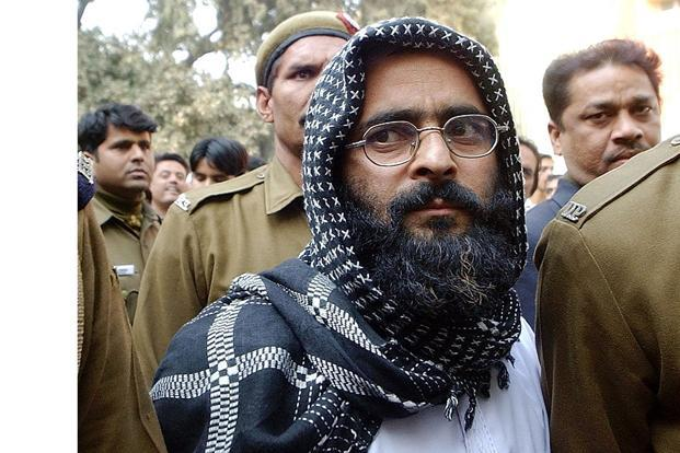 On Sunday, Jammu and Kashmir chief minister Omar Abdullah questioned why Afzal Guru had been hanged when the killers of former Prime Minister Rajiv Gandhi and Punjab chief minister Beant Singh still haven't been executed. Photo: Prakash Singh/AFP
