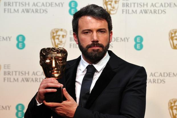 US actor and director Ben Affleck poses with Best Director award for his film 'Argo' during the annual British Academy Film Awards at the Royal Opera House in London on 10 February. Photo: AFP