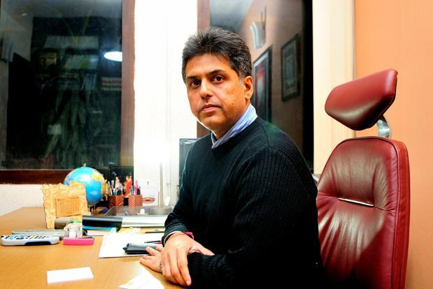 Manish Tewari, minister of information and broadcasting. The government has allocated Rs 90 crore for financial support and Rs 10 crore for training, capacity building and awareness campaigns of community radio stations, Tewari said. Photo: Ramesh Pathania/Mint