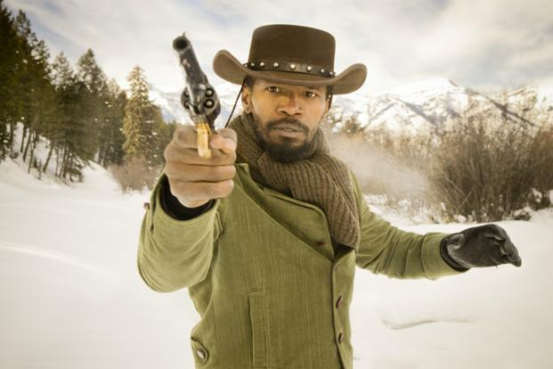 Jamie Foxx, who plays the title character, in a still from 'Django Unchained'.