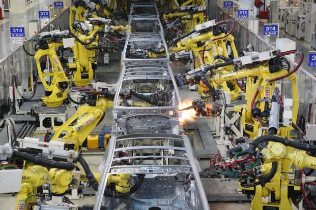The revenue, 83% of which is accounted for by the company's overseas operations, was bumped up by supplies to European car makers such as Volkswagen group. Photo: Mint