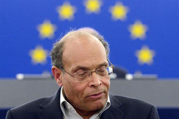Tunisian President Moncef Marzouki. Photo: AFP