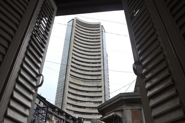 A file photo of the Bombay Stock Exchange.  Photo: HT