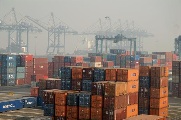 Shrinking global trade is affection Indian exports. Photo: Mint