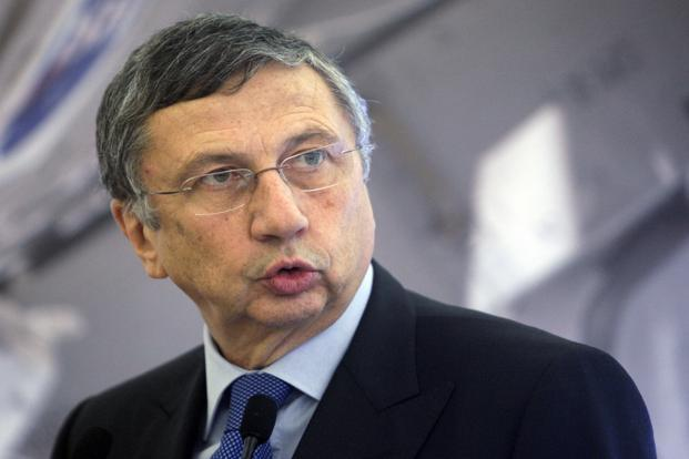 A file photo of Finmeccanica CEO Giuseppe Orsi. Photo: Reuters