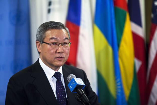 South Korea's foreign minister KimSung-hwan. Photo: Reuters