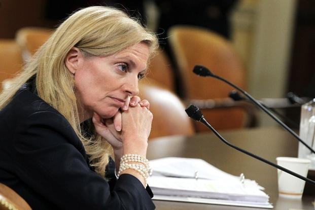 A file photo of US treasury undersecretary Lael Brainard. Photo: Getty Images/AFP