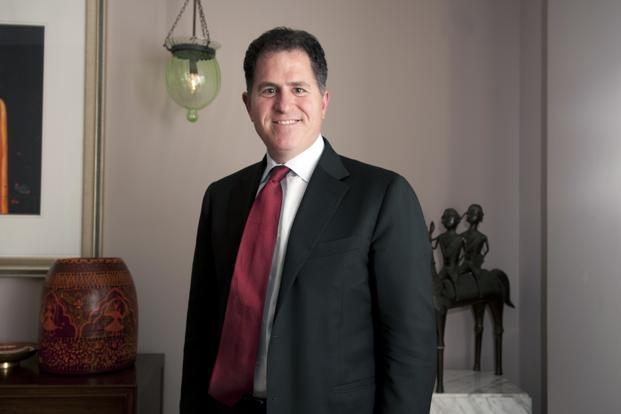 A file photo of Michael S. Dell, the founder and chief executive of Dell. Photo: Aniruddha Chowdhury/Mint