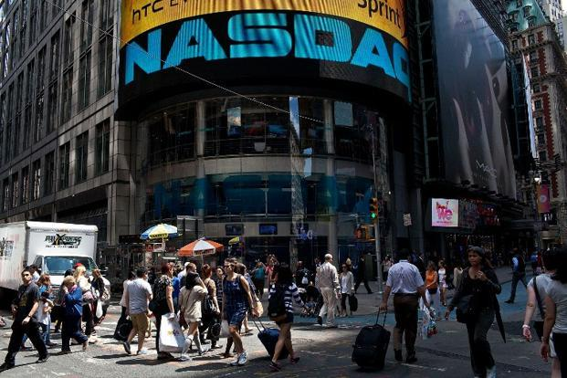 Management at Nasdaq has long felt the company is undervalued compared with its peers, two separate sources said. Nasdaq's board has a fiduciary responsibility to consider all offers. Photo: AFP