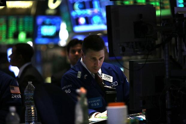 The Dow Jones industrial average was down 21.81 points, or 0.16%, at 13,971.16. The Standard & Poor's 500 Index was down 0.92 points, or 0.06%, at 1,517.01. Photo: AFP