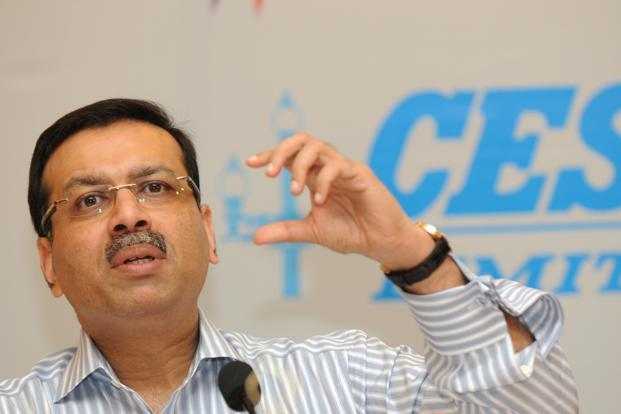 CESC vice-chairman Sanjiv Goenka says the firm has submitted a proposal of a 600MW power plant in Uttar Pradesh. Photo: Indranil Bhoumik/Mint