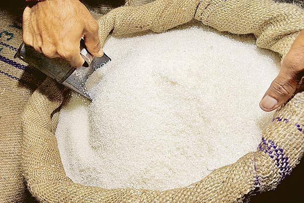 The drop could boost global sugar prices as the world's top sugar consumer imports raw sugar to maintain stocks and to take advantage of lower prices in Brazil. Photo: HT