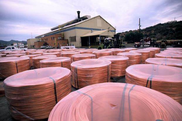 Copper and its products accounted for 3.23% of the 2010-11 export figure. HT