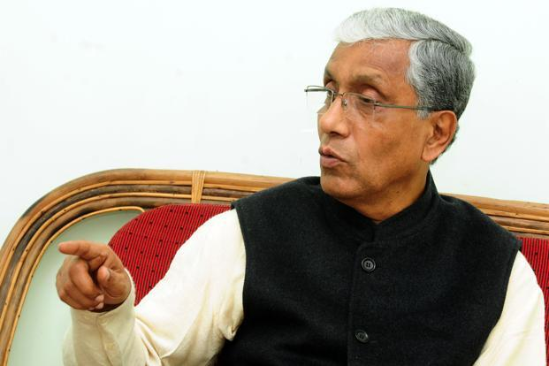 Manik Sarkar has been Tripura's chief minister for nearly 15 years. Photo: Indranil Bhoumik/Mint