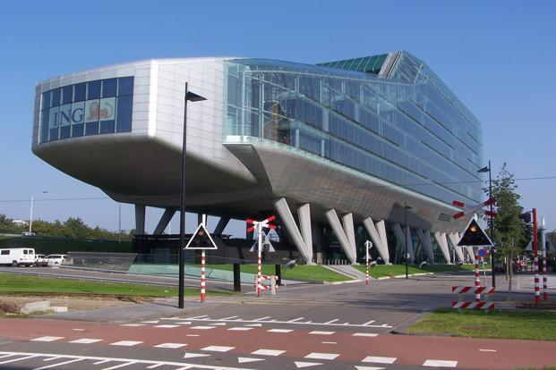 A file photo of ING headquarters in Amsterdam.Photo: Wikimedia Commons