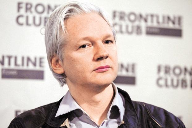 A file photo of WikiLeaks founder Julian Assange. Photo: Reuters