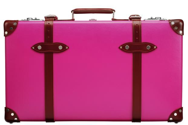 British luggage specialists Globe-Trotter have crafted vanity cases and suitcases just for the Barbie girl Valentine. Perfect when paired with a pet poodle or two. Starting at Rs 40,000.