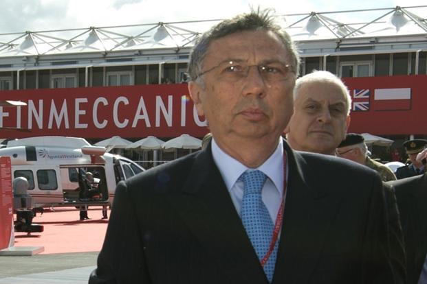 A file photo of Finnmeccanica CEO Giuseppe Orsi. The Italian police arrested Orsi on Tuesday for corruption and embezzlement in relation to alleged bribes given to the Indian government. Photo: AFP