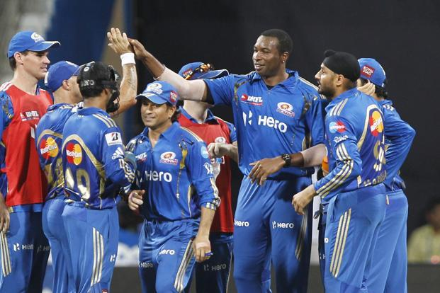 Hero was the title sponsor of the Mumbai Indians IPL team. Photo: Hindustan Times