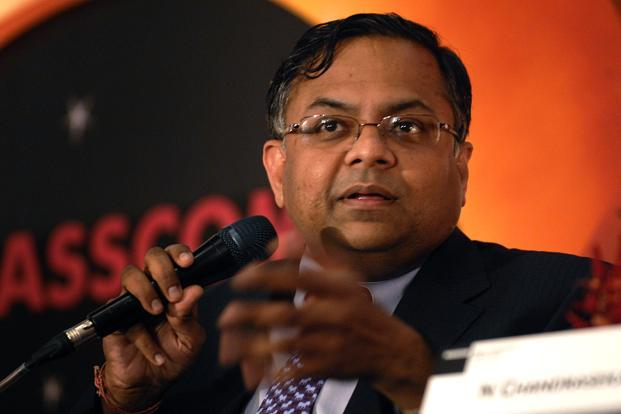 Highlighting the key trends shaping the industry, Nasscom chairman N. Chandrasekaran explained that technologies such as cloud computing, mobility, data analytics and social media along with high-speed Internet are making an impact on businesses and economies, both in developed and emerging markets. Photo: Abhijit Bhatlekar/Mint