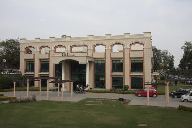 A file photo of the IIPM campus in New Delhi. Photo: Hindustan Times