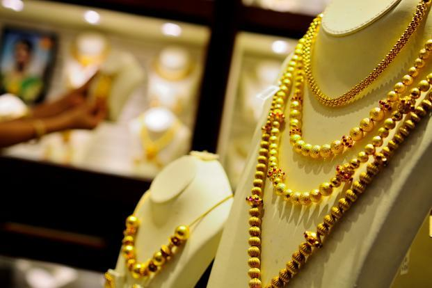 A file photo of a jewellery showroom in Karol Bagh, New Delhi. Photo: Priyanka Parashar