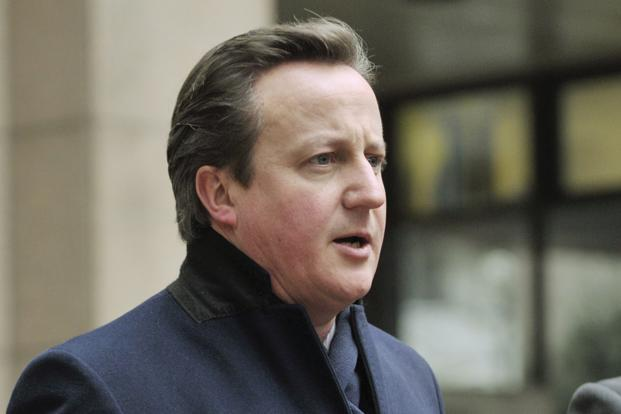 A file photo of Britain's Prime Minister David Cameron. Photo: Reuters