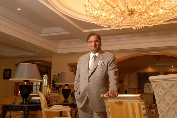 Hotel Leelaventure chairman Vivek Nair says the firm is in talks with investors for a 70% stake sale in its luxury properties in Chennai and Bangalore, which is expected to fetch `2,000-2,200 crore. Photo: Hemant Mishra/Mint